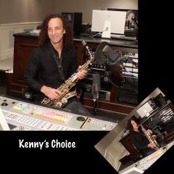 Kenny G in studio for CD recording 1.0