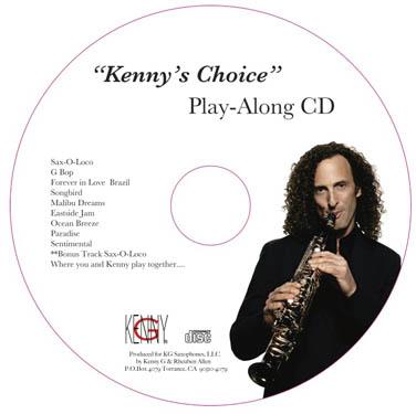 """Kenny G """"Kenny Choice"""" CD"""