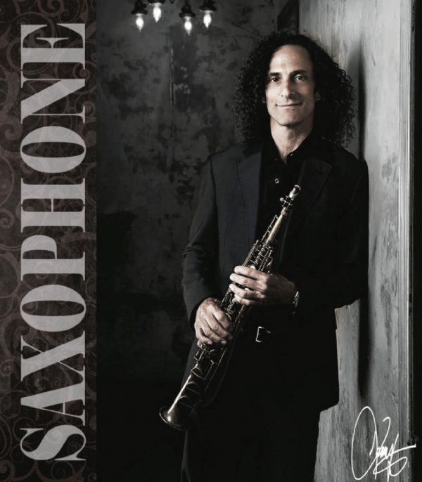 Kenny G Saxophone Brochure Cover 1.8