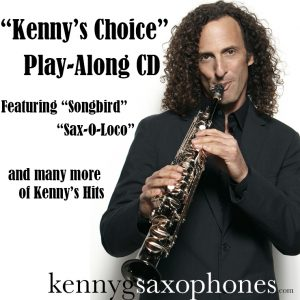 Kenny G Cover for Play-Along Kenny's Choice