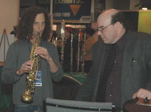 Kenny & Mike Smith at NAMM