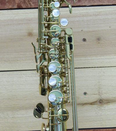 Kenny G EII Lacquered B-Flat Straight Soprno Saxophone
