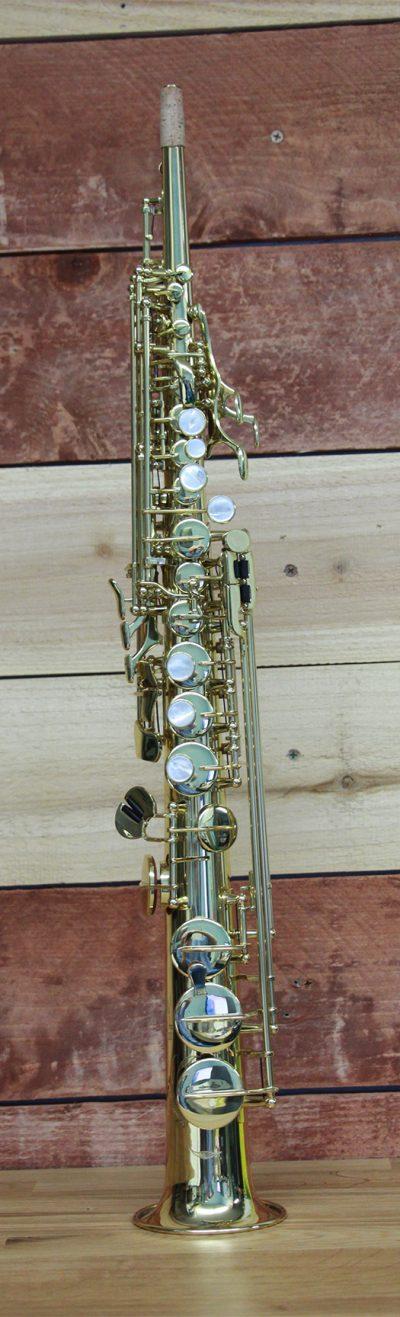 Kenny G EII Lacquered B-Flat Straight Soprno Saxophone