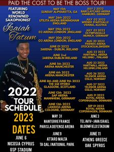 Isaiah Tour