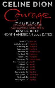 Isaiah and Celine Concert Schedule 2022